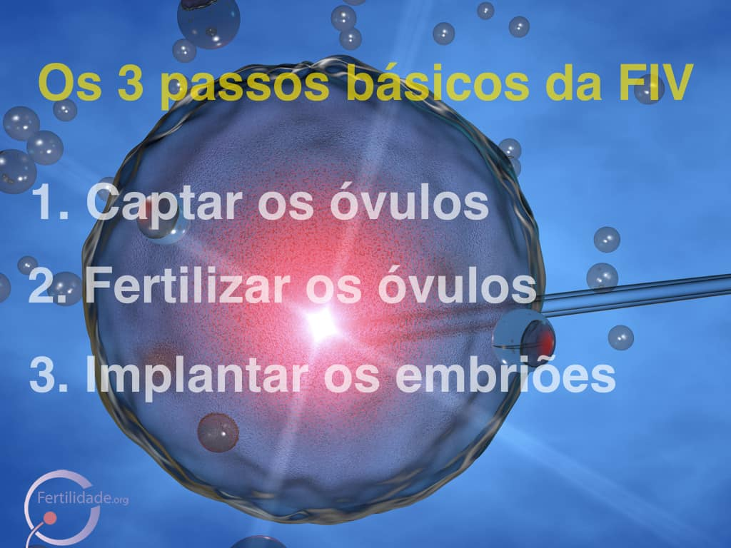3 Passos da FIV