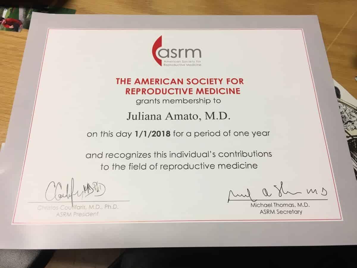 Sociedade Americana de Medicina Reprodutica